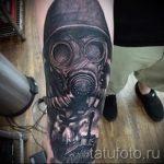 тату вдв на руке - фото пример татуировки 10208 tatufoto.ru