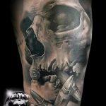 тату вдв на руке - фото пример татуировки 12210 tatufoto.ru