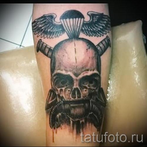 тату вдв на руке - фото пример татуировки 14212 tatufoto.ru
