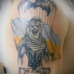 тату вдв на руке - фото пример татуировки 2200 tatufoto.ru