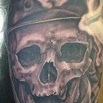 тату вдв на руке - фото пример татуировки 3201 tatufoto.ru