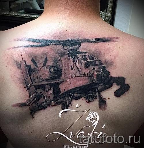 тату вдв на спине фото - фото пример татуировки 2217 tatufoto.ru