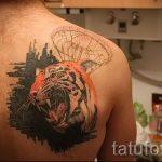 тату вдв на спине фото - фото пример татуировки 4218 tatufoto.ru