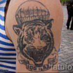 тату вдв разведка - фото пример татуировки 11239 tatufoto.ru