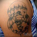 тату вдв разведка - фото пример татуировки 4232 tatufoto.ru