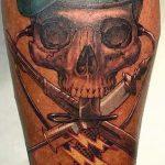 тату вдв спецназ - фото пример татуировки 10261 tatufoto.ru