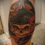 тату вдв спецназ - фото пример татуировки 12263 tatufoto.ru