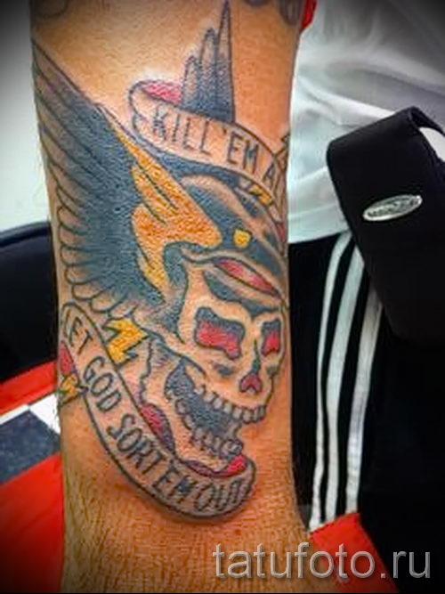тату вдв спецназ - фото пример татуировки 13264 tatufoto.ru