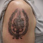 тату вдв спецназ - фото пример татуировки 3254 tatufoto.ru