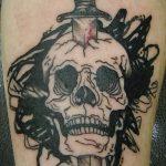 тату вдв спецназ - фото пример татуировки 6257 tatufoto.ru