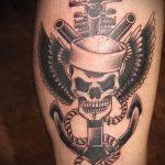 тату вдв спецназ - фото пример татуировки 7258 tatufoto.ru