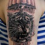 тату вдв тигр - фото пример татуировки 1270 tatufoto.ru