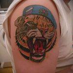 тату вдв тигр - фото пример татуировки 4273 tatufoto.ru