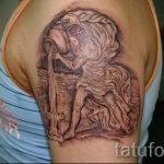 тату водолей для мужчин - фото - пример готовой татуировки от 01082016 2118 tatufoto.ru