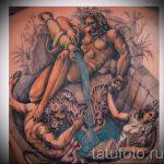 тату водолей для мужчин - фото - пример готовой татуировки от 01082016 3119 tatufoto.ru