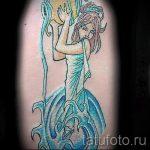 тату водолей - классное фото - пример готовой татуировки от 01082016 11091 tatufoto.ru