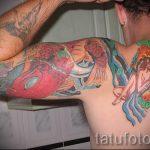 тату водолей - классное фото - пример готовой татуировки от 01082016 17097 tatufoto.ru