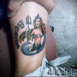 тату водолей - классное фото - пример готовой татуировки от 01082016 19099 tatufoto.ru