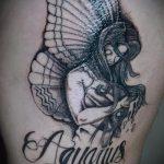 тату водолей - классное фото - пример готовой татуировки от 01082016 5085 tatufoto.ru