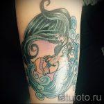 тату водолей на плече - фото - пример готовой татуировки от 01082016 1131 tatufoto.ru