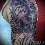 тату водолей на плече - фото - пример готовой татуировки от 01082016 3133 tatufoto.ru