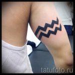 тату водолей на предплечье - фото - пример готовой татуировки от 01082016 2136 tatufoto.ru