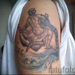 тату водолей на руке - фото - пример готовой татуировки от 01082016 2139 tatufoto.ru