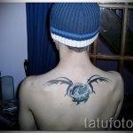 тату водолей узор - фото - пример готовой татуировки от 01082016 3152 tatufoto.ru