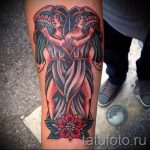 тату в виде водолея - фото - пример готовой татуировки от 01082016 1078 tatufoto.ru