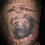тату медведь вдв - фото пример татуировки 5302 tatufoto.ru