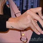тату ноты на запястье - фото готовой татуировки от 02082016 16130 tatufoto.ru