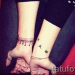 тату ноты на запястье - фото готовой татуировки от 02082016 255149 tatufoto.ru