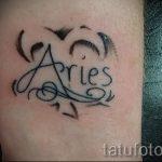 тату овен для девушек - фото готовой татуировки от 02082016 8077 tatufoto.ru