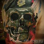 тату череп берет вдв фото 2307 tatufoto.ru