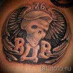 тату череп берет вдв фото 3308 tatufoto.ru