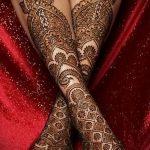 узоры мехенди на ногу - варианты временной тату хной от 05082016 4281 tatufoto.ru