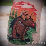 фото - крутые бобры тату - пример 1139 tatufoto.ru