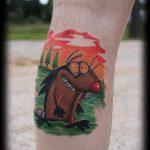 фото - крутые бобры тату - пример 3141 tatufoto.ru