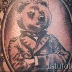 фото - крутые тату медведя - пример 1218 tatufoto.ru