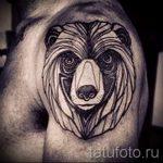 фото - крутые тату медведя - пример 2219 tatufoto.ru