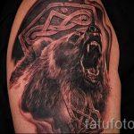 фото - крутые тату медведя - пример 3220 tatufoto.ru