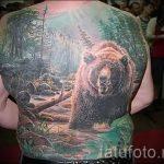 фото - крутые тату медведя - пример 6222 tatufoto.ru