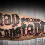 фото - крутые тату надписи - пример 2295 tatufoto.ru