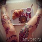 фото - крутые тату на ноге - пример 4256 tatufoto.ru