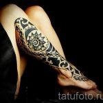 фото - крутые тату на ноге - пример 6258 tatufoto.ru