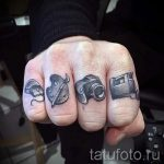 фото - крутые тату на пальцах - пример 1259 tatufoto.ru