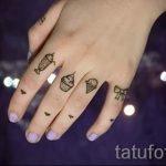 фото - крутые тату на пальцах - пример 2260 tatufoto.ru