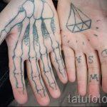 фото - крутые тату на пальцах - пример 4262 tatufoto.ru