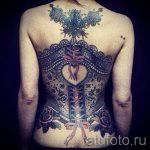 фото - крутые тату на спине - пример 4284 tatufoto.ru