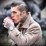 фото - крутые тату на шее - пример 5291 tatufoto.ru